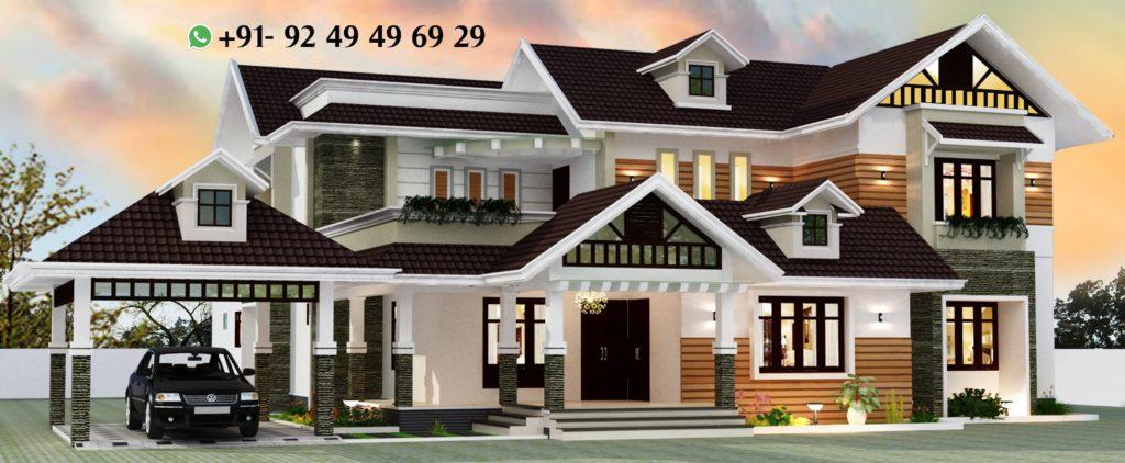 4806 Square Feet - 5 Bedroom Ultra Luxury Modern Villa