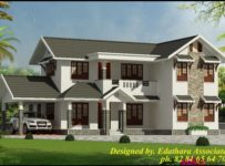 2722 Sq Ft, Modern, Double Floor Kerala Home