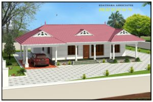 1136 Sq Ft, Traditional, Single Floor Kerala Home