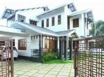 A CONTEMPORARY HOUSE..