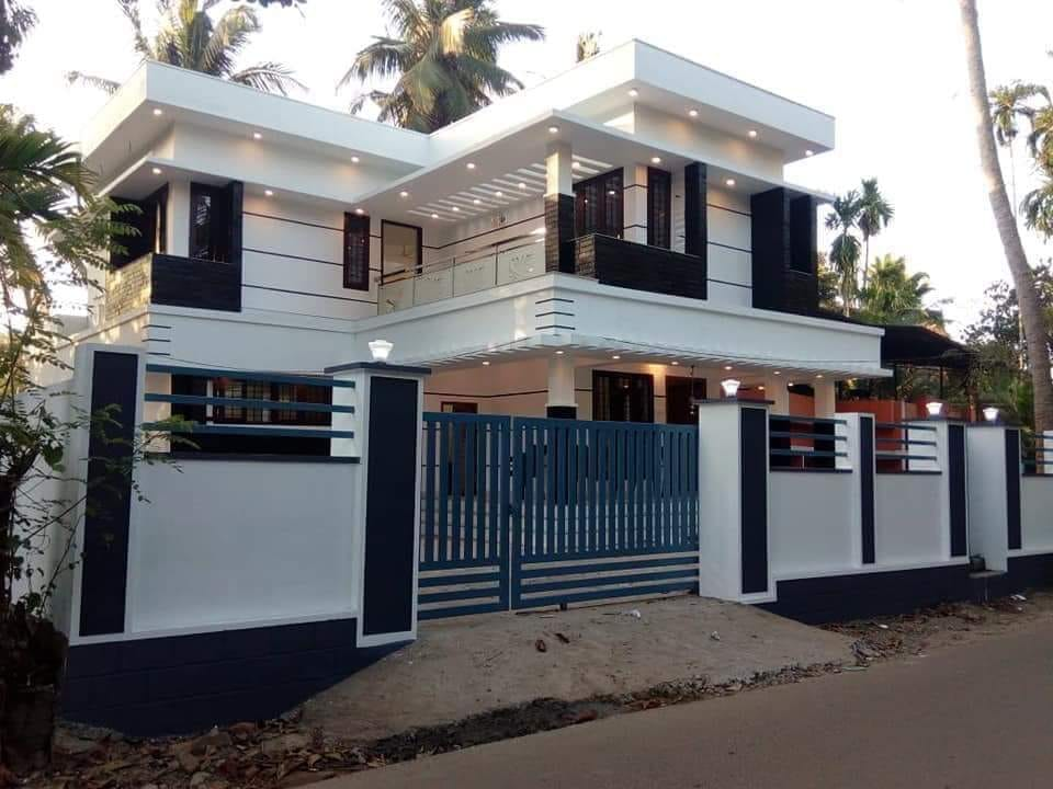 Photo of 1676 Square Feet 3 Bedroom Kerala Home Design and Plan