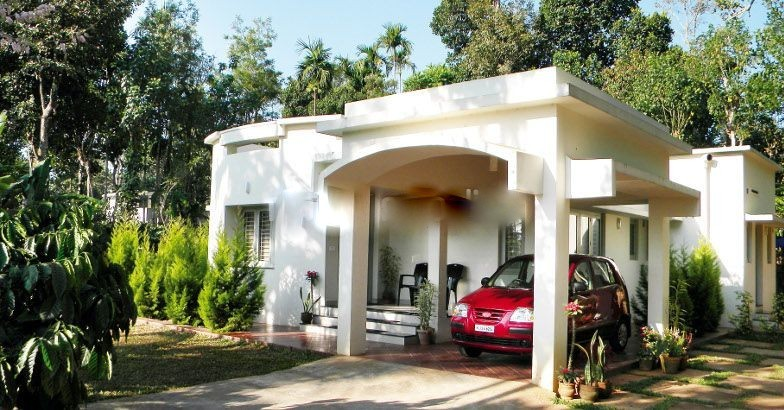 Photo of 1350 Square Low Cost House in Kerala with Plan & Photos