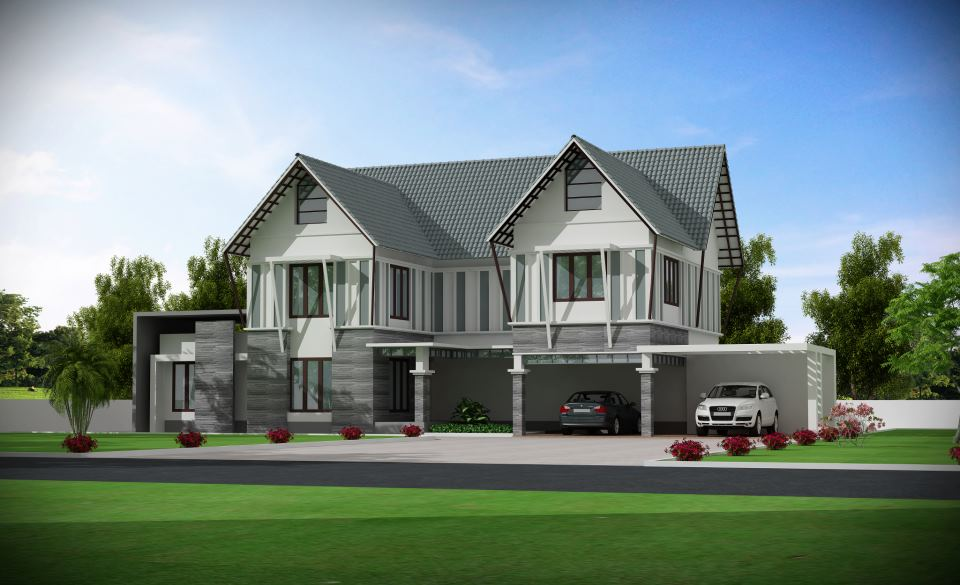 Photo of 6708 SqFt  Double Floor Luxury Home Design and Plan