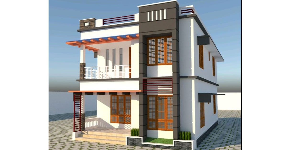 Photo of 1450 Sq feet. Beautiful Home in Progress. Cost 23 lakh