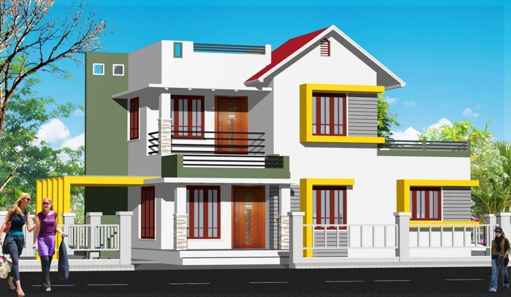 Photo of Kerala House Plans free -2555 sqft  for a 4 Bedroom