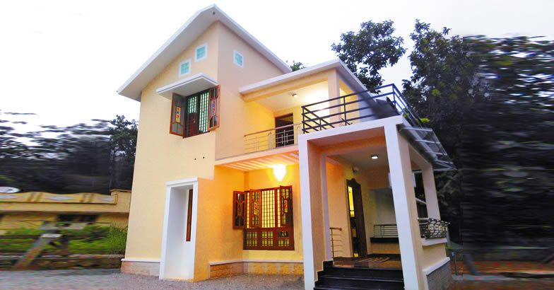 Photo of Kerala Style Low Budget 1650 SqFt Home Design and Plan