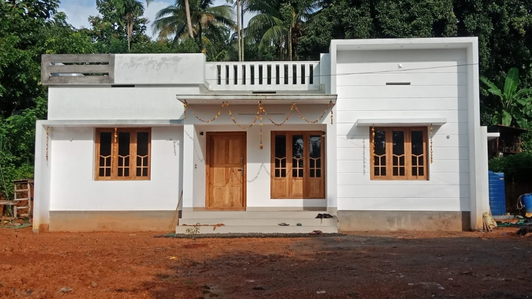 Photo of 1000 Square Feet 3 Bedroom Simple and Beautiful Single Floor House and Plan