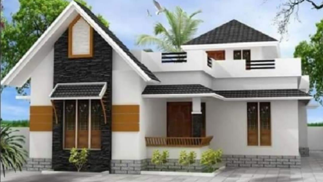 Photo of 1082 Square Feet 2 Bedroom Single Floor Beautiful House and Plan