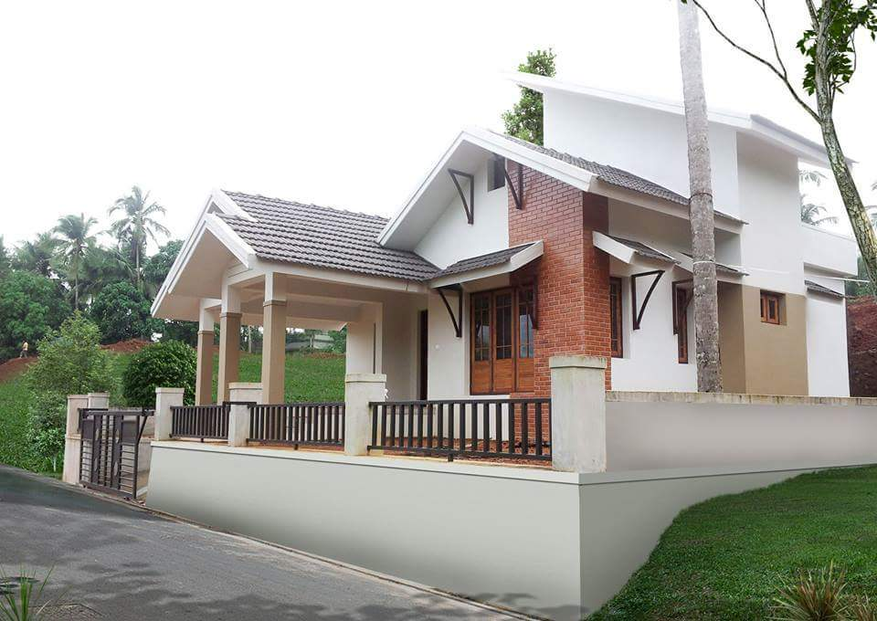 Photo of 1100 Square Feet 3 Bedroom Single Floor Modern Beautiful House and Plan