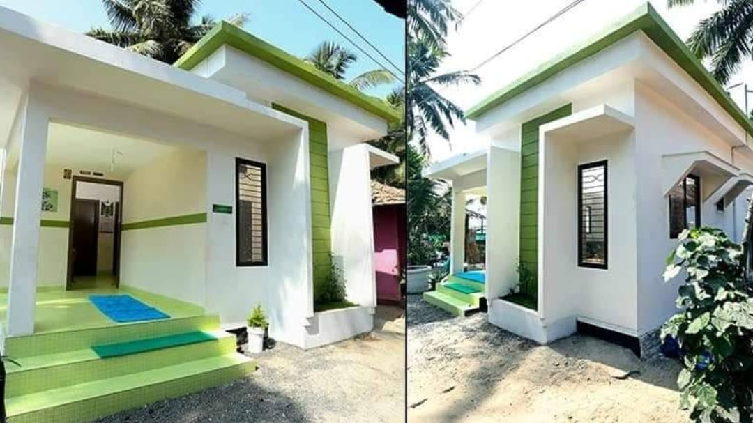 489 Square Feet 2 Bedroom Beautiful Single Floor house For 6 Lack