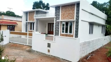 Photo of 1000 Square Feet 3 Bedroom Single Floor House and Plan