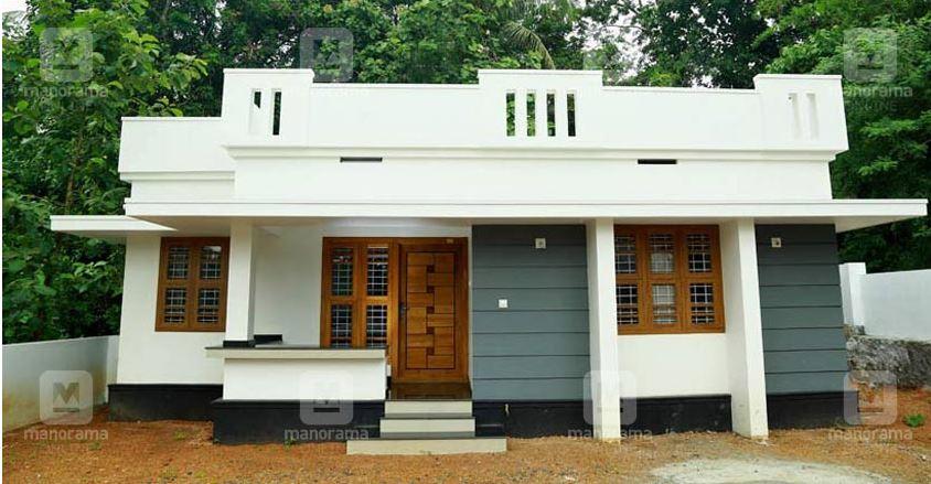 1022 Square Feet 2 Bedroom Single Floor Modern Beautiful House and Plan