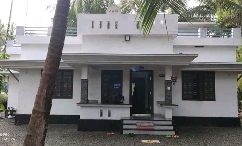 1026 Square Feet 3 Bedroom Single Floor Low Cost House and Plan