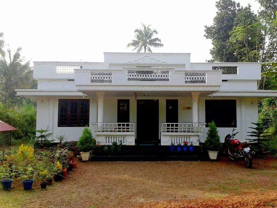 1040 Square Feet 2 Bedroom Single Floor Simple House and Plan