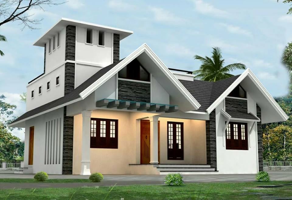 Photo of 1126 Square Feet 3 Bedroom Single Floor Modern Beautiful House and Plan