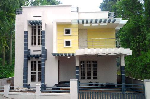 Photo of 1333 Square Feet 3 Bedroom Contemporary Style Double Floor House and Plan