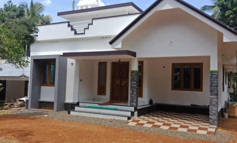 1350 Square Feet 3 Bedroom Single Floor Beautiful House and Plan