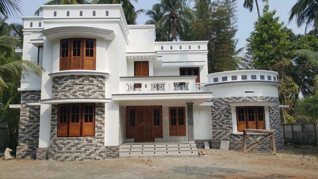 Photo of 2000 Square Feet 3 Bedroom Modern Two Floor House and Plan