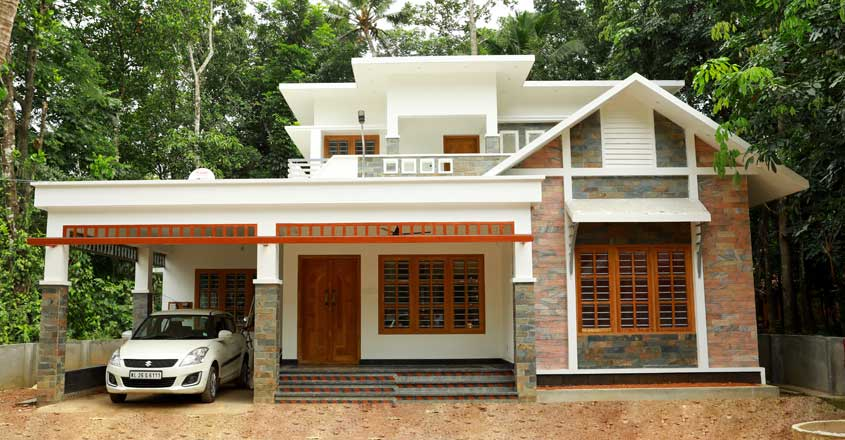 Photo of 2060 Sq Ft 3 BHK Modern Two Floor Beautiful Low Budget House