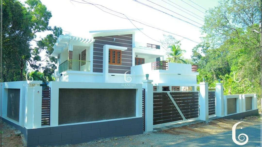Photo of 2200 Square Feet 3 Bedroom Contemporary Style Two Floor Modern Home