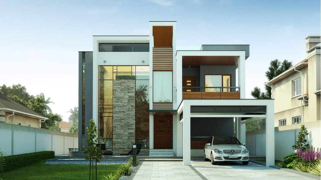 Photo of 3873 Square Feet 4 Bedroom Contemporary Style Luxury Home and Plan