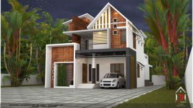 Photo of 4 Bedroom Fusion Style Two Floor Modern Home and Plan