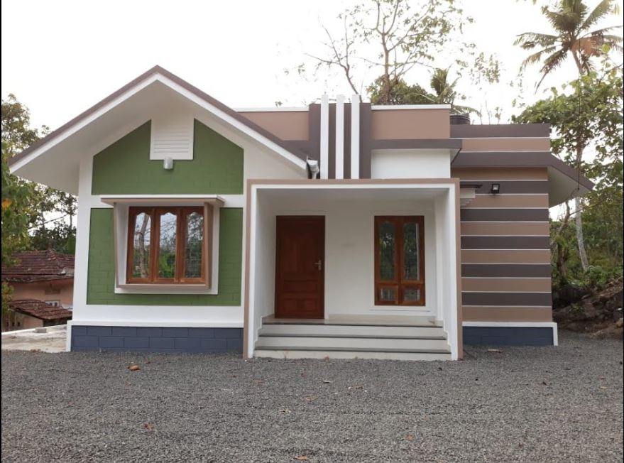 Photo of 876 Square Feet 2 Bedroom Single Floor Modern and Beautiful House