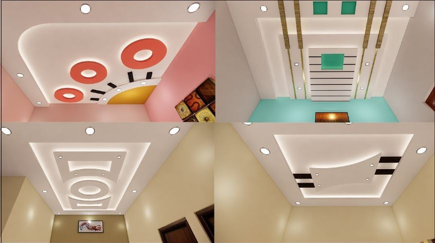 False Ceiling Gypsum Designs For Hall and Bedrooms