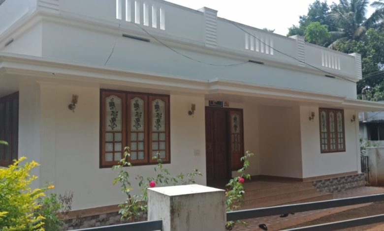 1026 Square Feet 3 Bedroom Single Floor Low Budget House and Plan