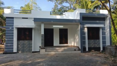 Photo of 1100 Square Feet 3 Bedroom Single Floor Modern House and Plan