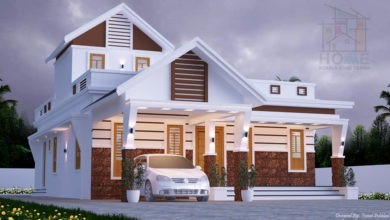 Photo of 1162 Square Feet 2 Bedroom Mixed Roof Modern Beautiful Home