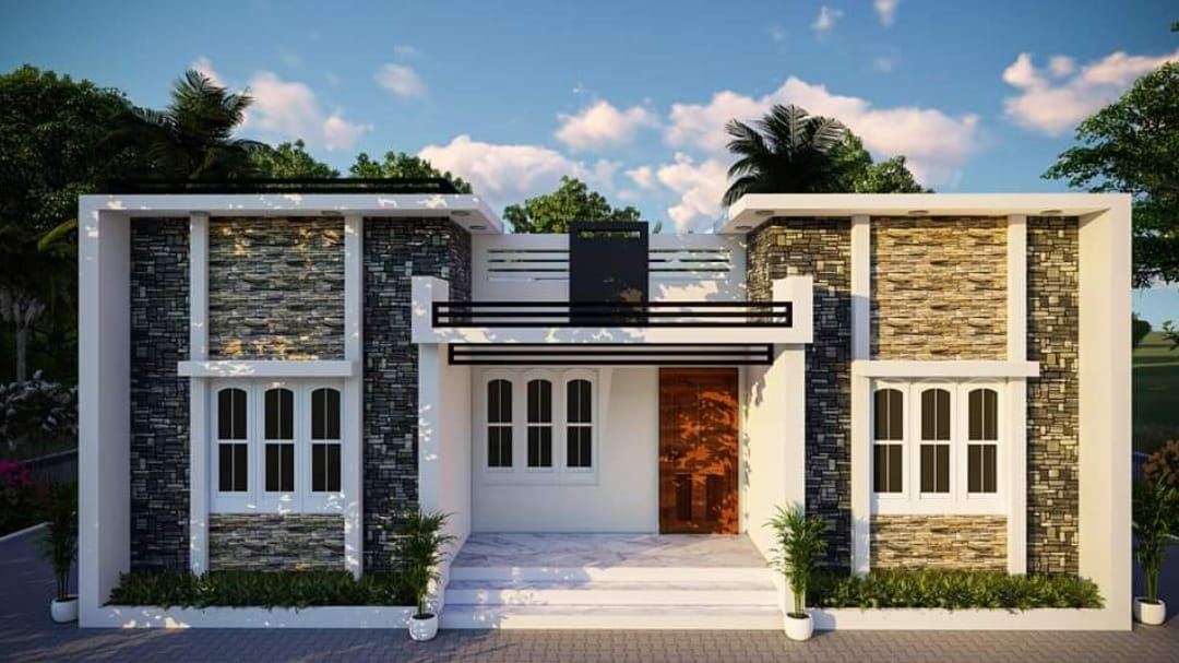1200 Square Feet 3 Bedroom Modern Single Floor House And Plan 16 Lacks Home Pictures