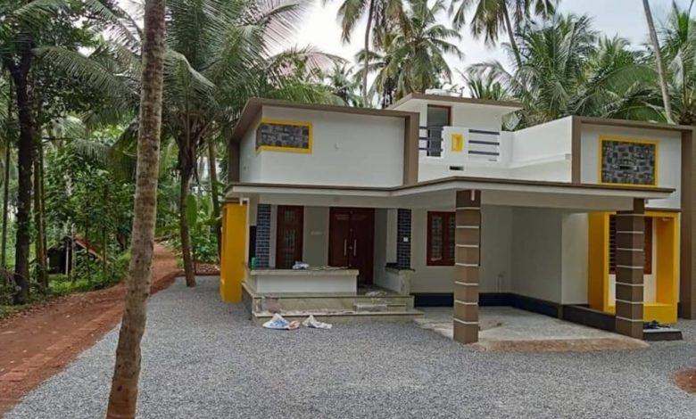 1230 Square Feet 3 Bedroom Single Floor Modern Beautiful House and Plan