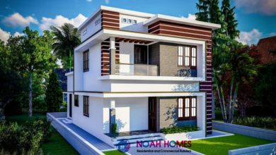 Photo of 1280 Square Feet 3 Bedroom Modern Double Floor House and Plan