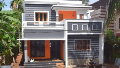 Photo of 1372 Square Feet 3 Bedroom Double Floor Beautiful House and Plan