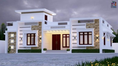 Photo of 1500 Sq Ft 3 BHK Single Floor Modern Home