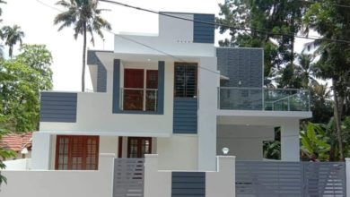 Photo of 1500 Square Feet 3 Bedroom Contemporary Style Double Floor Home