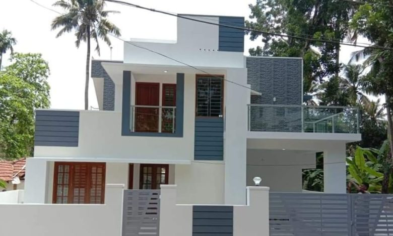 1500 Square Feet 3 Bedroom Contemporary Style Double Floor Home