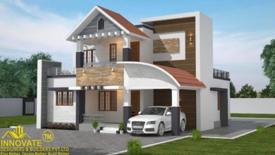 Photo of 1601 Square Feet 3 Bedroom Contemporary Style House and Plan