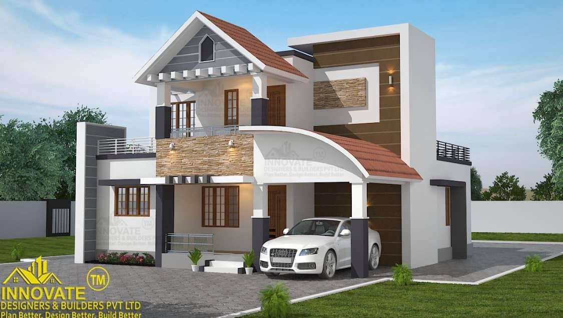 1601 Square Feet 3 Bedroom Contemporary Style House and Plan