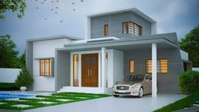 Photo of 1650 Square Feet 3 Bedroom Contemporary Style Beautiful House and Plan