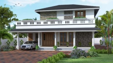 Photo of 1857 Square Feet 4 Bedroom Traditional Style House and Plan