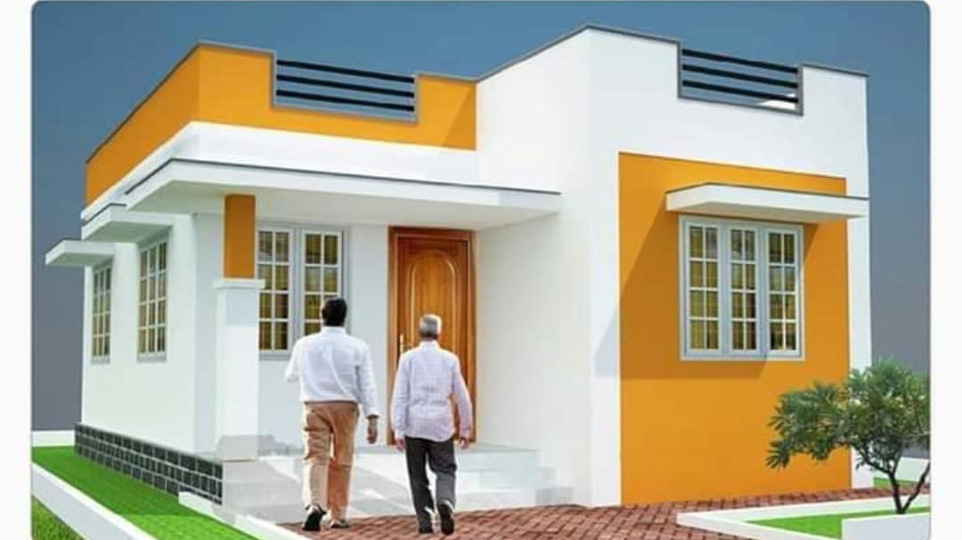 2 Bedroom Single Floor Modern House For 8 5 Lack Free Plan Home Pictures