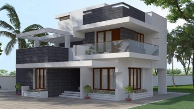 Photo of 2034 Square Feet 4 Bedroom Contemporary Style Home and Plan