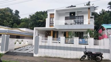 Photo of 2231 Square Feet 4 BHK Modern Double Floor House and Interior