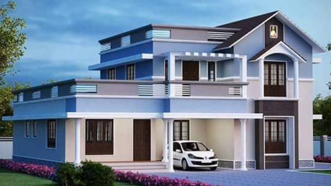 2400 Square Feet 4 Bedroom Modern, Floor Plans For 2400 Square Foot Bungalow