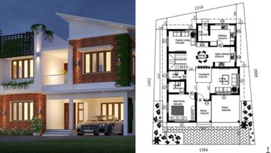 Photo of 2508 Square Feet 4 Bedroom Fusion Style Double Floor Modern House and Plan