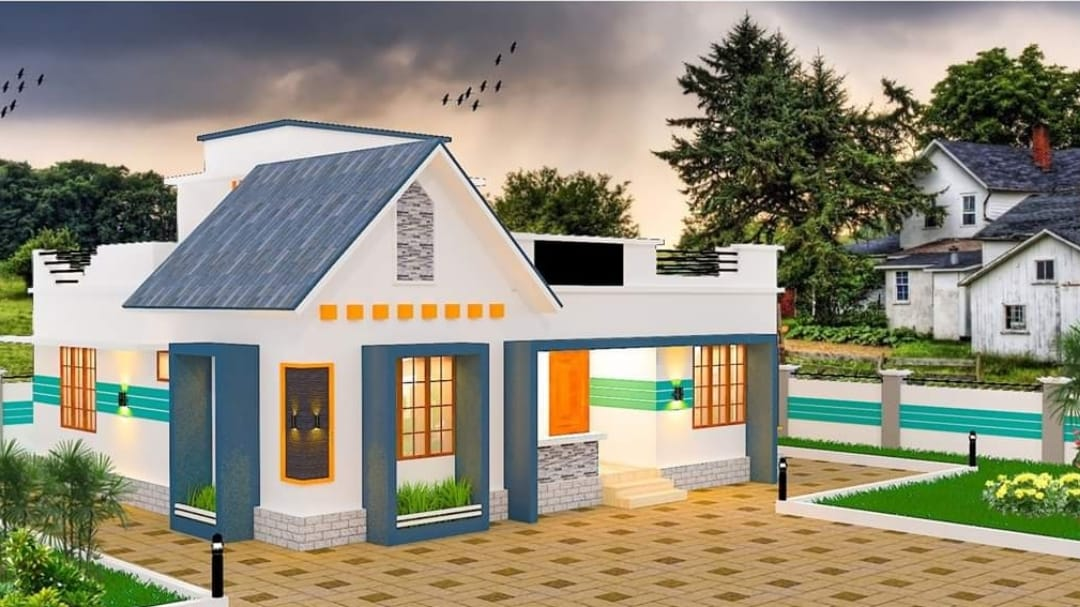 3 Bedroom Mixed Roof Modern Single Floor Beautiful House And Plan Home Pictures