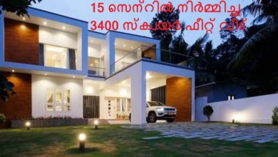 Photo of 3400 Square Feet Contemporary Style Home and Interior at 15 Cent Plot