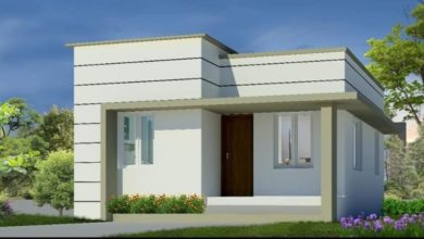 Photo of 661 Square Feet 2 Bedroom Single Floor Low Budget House and Plan